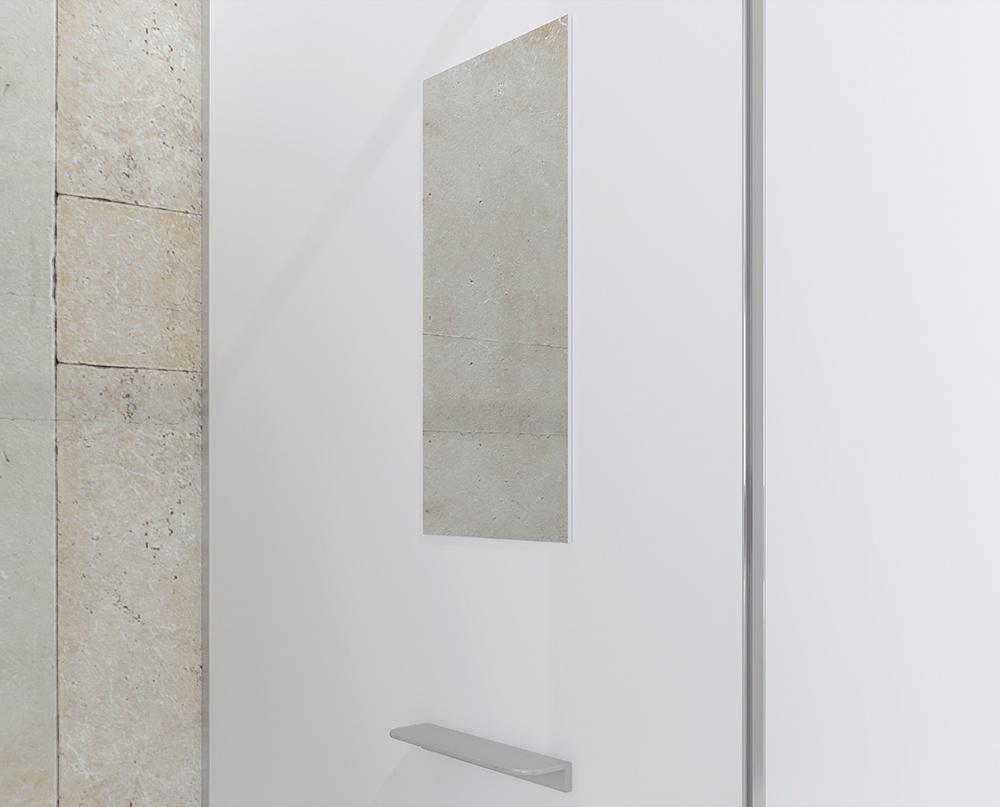 Spiegel mit Ablagekonsole